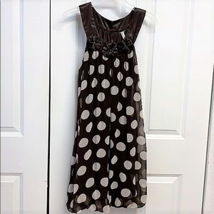 Heart Soul Dress Size M Polka Dot